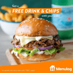 DEAL: Ribs & Burgers – Free Chips & Drink with Seriously Tasty Menu Item Purchase via Menulog (until 19 July 2020)