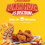 DEAL: Chicken Treat – $5 off $25+ Spend via Menulog (11am to 1pm Monday to Thursday)