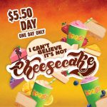 DEAL: Boost Juice App – $5.50 Cheesecake Range (11 August 2020)