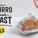 NEWS: Guzman Y Gomez Churro French Toast