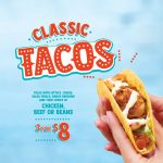 DEAL: Salsa's – 3 Classic Tacos for $8