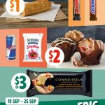 DEAL: 7-Eleven Epic Weekly Deals – $1 Sausage Roll/Mars Bar, $2 Topped Muffin/Red Bull/Lolly Bag, $3 Connoisseur