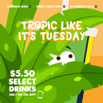 DEAL: Boost Juice – $5.50 Tropical Tuesday – Caribeean Green, Mango Tango Crush, Watermelon Crush (29 September 2020)