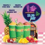 NEWS: Boost Juice – $5.50 Pineapple with a Twist Range (23 September 2020)