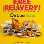 DEAL: Chicken Treat – Free Delivery on Uber Eats until 28 Sep + 10 Nuggets Free with $35 Spend on Fridays