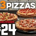 DEAL: Domino's – 3 Large Pizzas for $24 Delivered (31 October 2020)