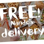 DEAL: Nando's – Free Delivery via Nando's Delivery (until 24 January 2021)