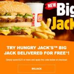 DEAL: Hungry Jack's – Free Delivery for Orders over $25 via Menulog