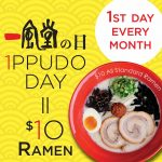 DEAL: Ippudo – $10 Ramen on First Day of Every Month in Sydney