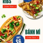 DEAL: Roll'd – 10 Chicken Ribs for $10 & $6 Banh Mi (VIC Only)