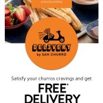 DEAL: San Churro – Free Delivery with $15 Spend at Selected Stores via San Churro Delivery (until 28 September 2020)