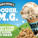 DEAL: Ben & Jerry's – Free Scoop of Dough Ice Cream – Register Now (2-15 November 2020)