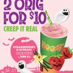 DEAL: Boost Juice – 2 Strawberries & Scream Original Boosts for $10 in NSW/ACT (until 1 November 2020)