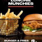 DEAL: Burger Urge – $12 Selected Burger & Fries (11am-3pm Monday-Thursday)