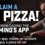 DEAL: Domino's – Free Large Pizza through Delivery by Downloading the Domino's App