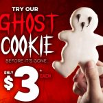 NEWS: Domino's Halloween Ghost Cookie for $3