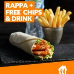 DEAL: Oporto – Free Chips and Drink with Rappa Purchase via Menulog