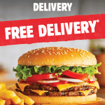 DEAL: Hungry Jack's – Free Delivery via Menulog