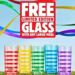 DEAL: Hungry Jack's – Free Limited Edition Glass with Large Meal Purchase (starts 27 October 2020)