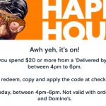 DEAL: Menulog – $5 off $20 Spend at Delivered By Restaurants (4-6pm AEDT 28 October 2020)