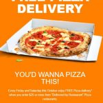"DEAL: Menulog – $10 off $25 Spend for Pizza Delivery for ""Delivered By Restaurant"" Orders (until 25 October 2020)"