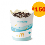 DEAL: McDonald's – $1.50 McFlurry (30 November 2020 – 30 Days 30 Deals)