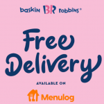 DEAL: Baskin Robbins – Free Delivery via Menulog (until 7 December 2020)