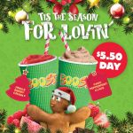 DEAL: Boost Juice – $5.50 Christmas Drinks – Jingle Berry Crush & Choc Peppermint Claus (25 November 2020)