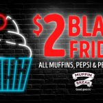 DEAL: Muffin Break – $2 Muffins, Pepsi & Pepsi Max on Black Friday 27 November 2020