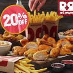 DEAL: Red Rooster – 20% off via DoorDash (until 27 January 2021)