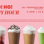 DEAL: Starbucks – Half Price Frappuccinos (5-6pm, 26-27 November 2020)