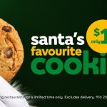 DEAL: Subway – $1 Cookie