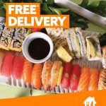 DEAL: Sushi Hub – Free Delivery via Menulog