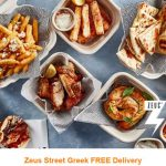DEAL:  Zeus Street Greek – Free Delivery via Menulog (until 7 December 2020)