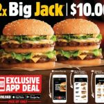 DEAL: Hungry Jack's App – 2 Big Jacks for $10