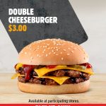 DEAL: Hungry Jack's App – $3 Double Cheeseburger (until 28 December 2020)