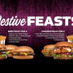 DEAL: Carl's Jr – $28.95 Festive Feasts for 4