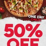 DEAL: Domino's – 50% off Large Traditional & Premium Pizzas with Domino's App at Selected Stores (1 March 2021)