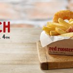 DEAL: Red Rooster – $5.95 Troppo Lunch until 4pm (Quarter Chicken, Chips & Pineapple Fritter)