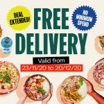 DEAL: Roll'd – Free Delivery with No Minimum Spend (until 18 April 2021)