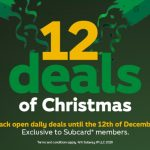 DEAL: Subway – 12 Deals of Christmas with Subway App (until 12 December 2020)