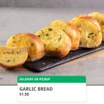 DEAL: Domino's – $1.50 Garlic Bread via Domino's App (16 January 2021)