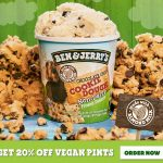 DEAL: Ben & Jerry's – 20% off Non-Dairy Pints via Uber Eats
