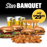 DEAL: Carl's Jr – $29.95 Star Banquet