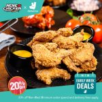 DEAL: Nene Chicken – 25% off with Minimum $25 Spend via Deliveroo on Mondays-Wednesdays