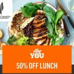 DEAL: Hey You – 50% off at 52 Martin Place Sydney Venues from 11am to 2:30pm 1-5 March 2021