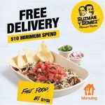 DEAL: Guzman Y Gomez – Free Delivery with $10 Minimum Spend on Menulog (until 31 May 2021)