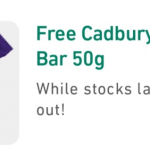 DEAL: 7-Eleven App – Free Cadbury Neapolitan 50g Bar (24 February 2021)