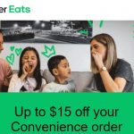 DEAL: Uber Eats – $15 off Convenience Order with No Minimum Spend (until 28 February 2021)