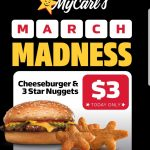 DEAL: Carl's Jr – $3 Cheeseburger & 3 Star Nuggets via App (8 March 2021)
